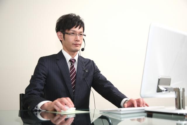 パソコンで会話