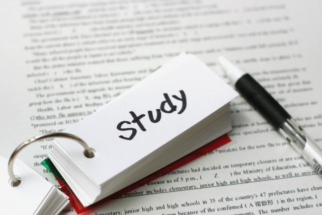 英単語帳で学習